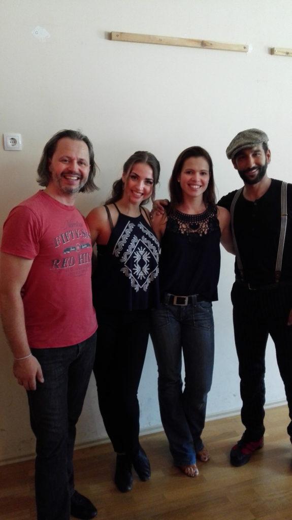 Andreas, Ekaterina, Alexandra, Massimo