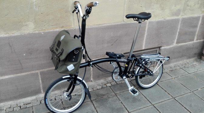 Mein BROMPTON-Faltrad