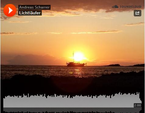 Lichtläufer … Experiment … Musik … Sprache