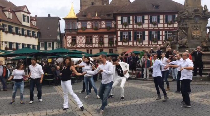 Schwabach – International West Coast Swing Flashmob 2017
